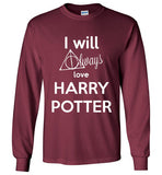I Will Always Love Harry Potter Graphics Tops - infinity owl