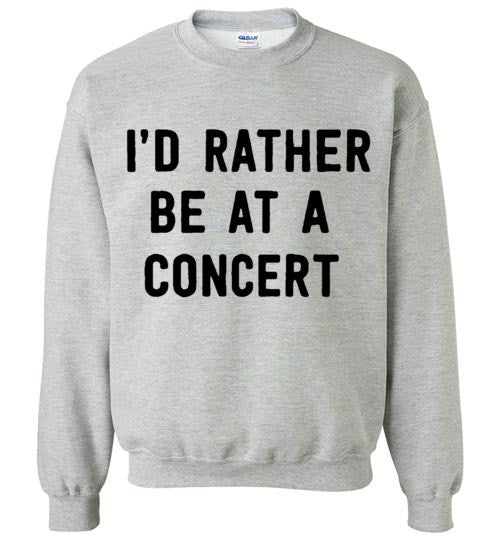 I'd Rather Be At A Concert Tops - infinity owl