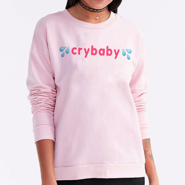 Crybaby Pink Graphic Tops - infinity owl