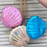 Mermaid Shells Purse