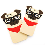 Pug Nerd Dog Phone Case