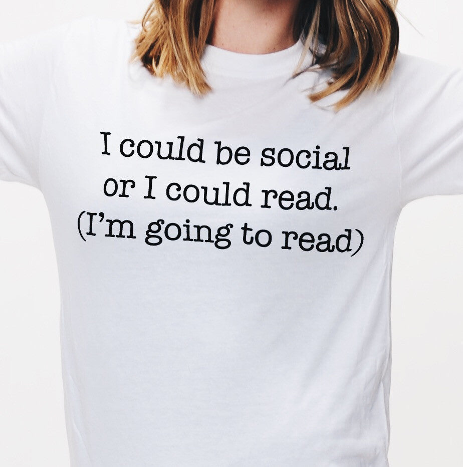I'm Going to Read T-Shirt