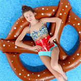 Pretzel Floating  Pool Floats - infinity owl