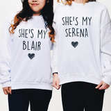 She's My Serena BFFs Tops