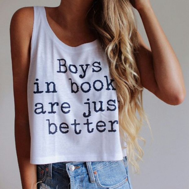 Boys In Book Are Just Better Graphic Tops - infinity owl