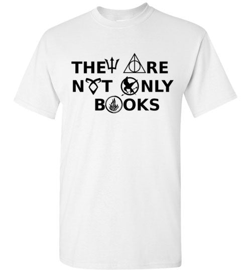 They Are Not Only Books Graphics Shirt
