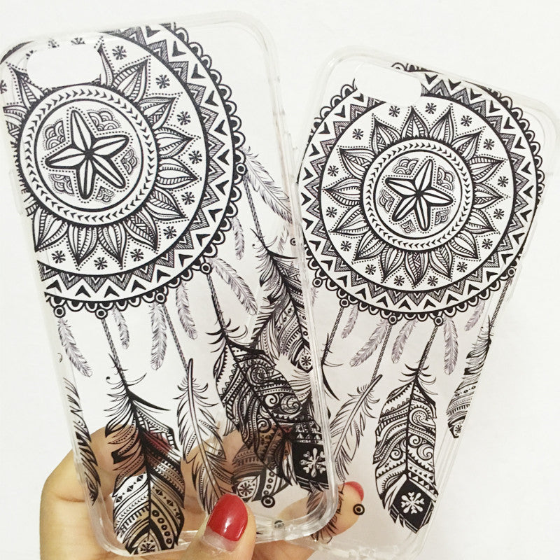 Dream Catcher Phone Cases - infinity owl