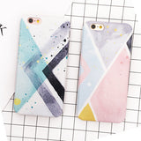 Water Color Color Block iPhone Case