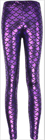 Mermaid Tail Leggings - infinity owl