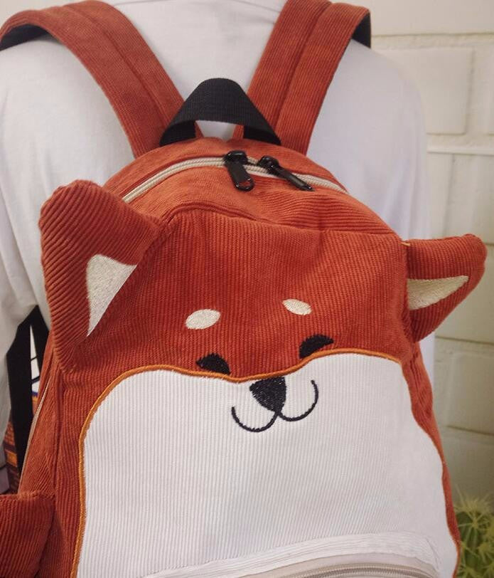 Sad Puppy Fox Backpack