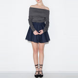 Tina Off Shoulder Sweater Dress