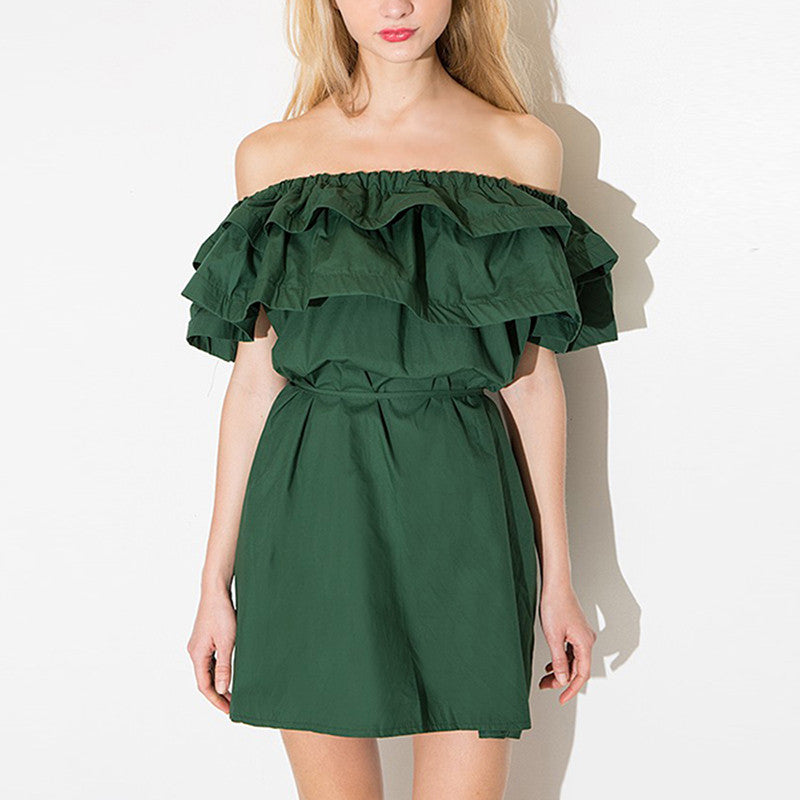 Olivea Off Shoulder Dress