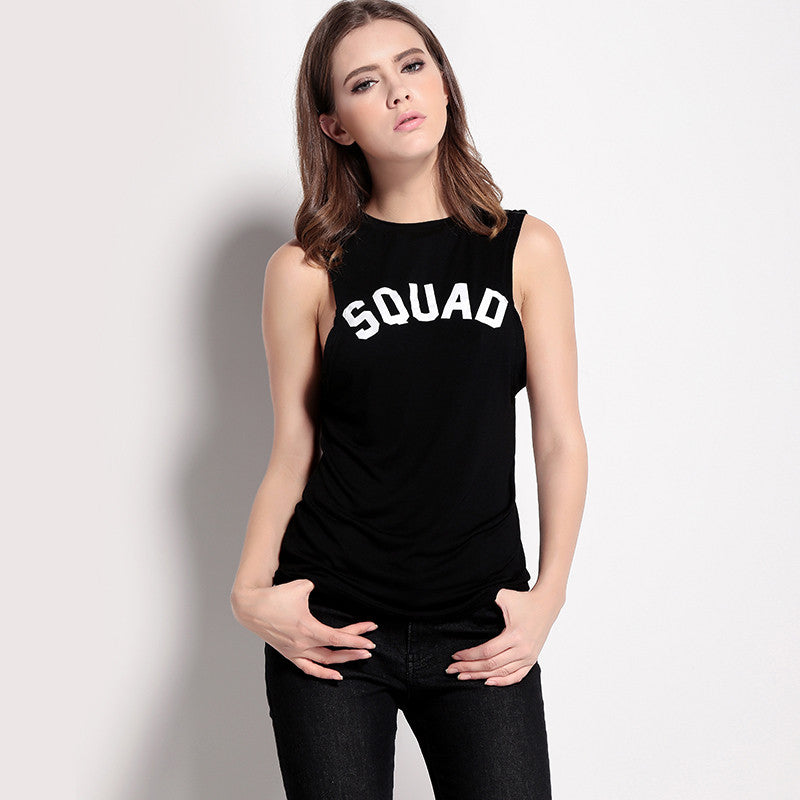 SQUAD BFFs Muscle Tees