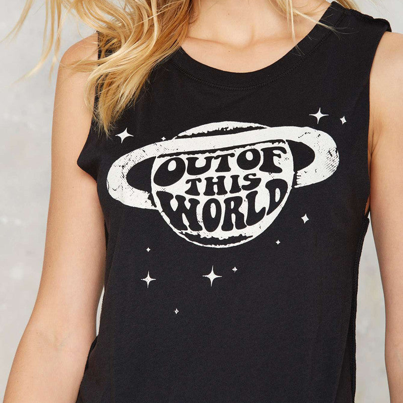 Out Of The World Muscle Tee