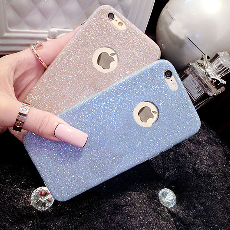 Glitter Candy Cover Phone Case - infinity owl