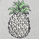 Pineapple Grey Graphic Tees
