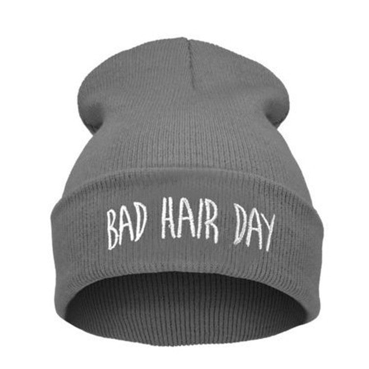 Bad Hair Day Beanies - infinity owl