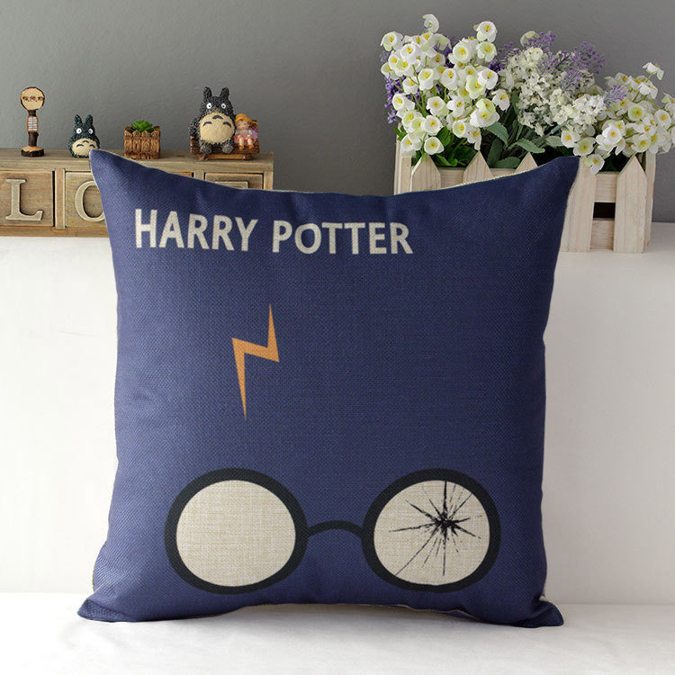 Harry Potter Navy Pillow Case - infinity owl