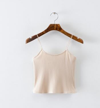 Isabella Knitted Straps Tops