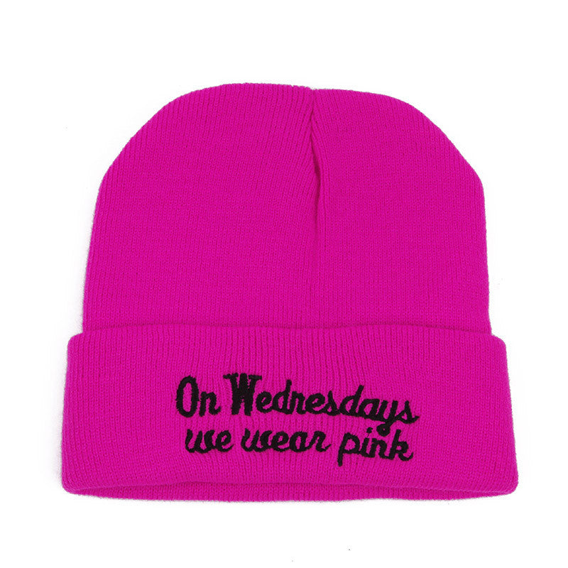 On Wednesdays We Wear Pink Beanies