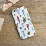 Cactus All Over Print Cellphone Case - infinity owl