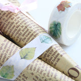 1 Pc Diy Leaf Floral Tapes - infinity owl