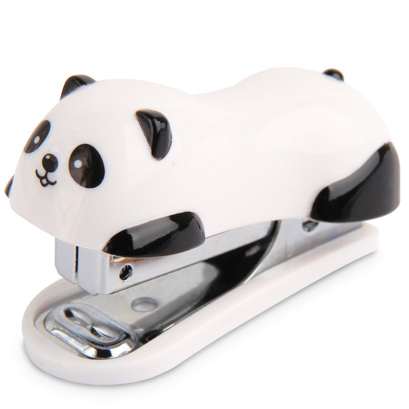 Cute Panda Mini Desktop Stapler - infinity owl
