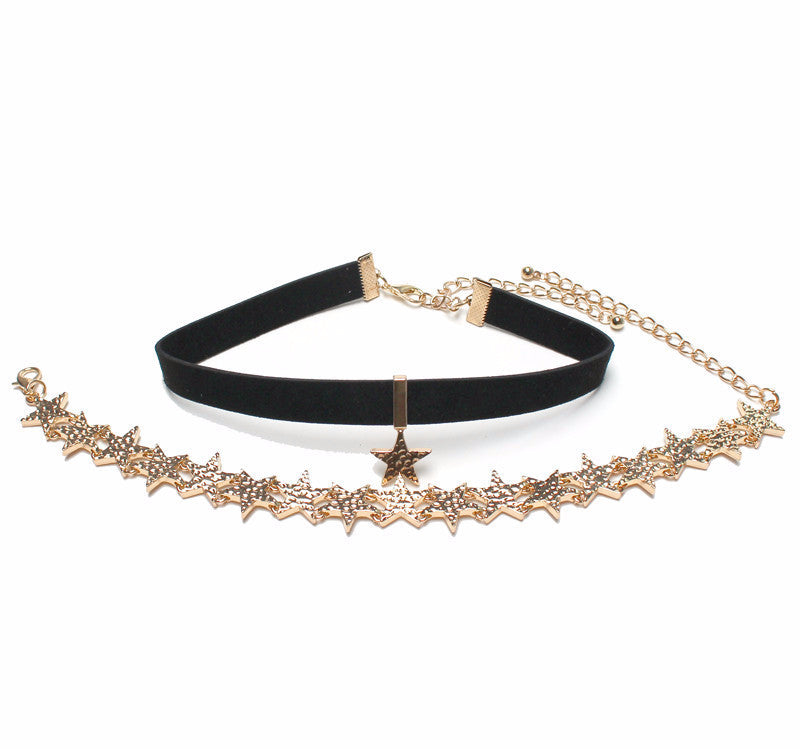 All The Stars Choker - infinity owl