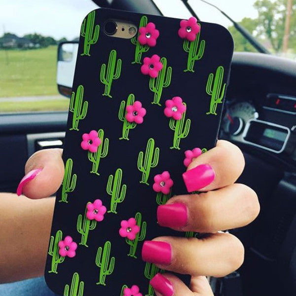 Sexy Cactus Flowers Phone Case