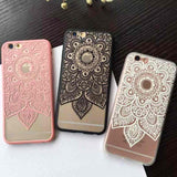 Lace Mandala Phone Cases