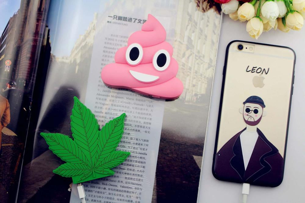 8800mAh Pink Emoji Poop Power Bank