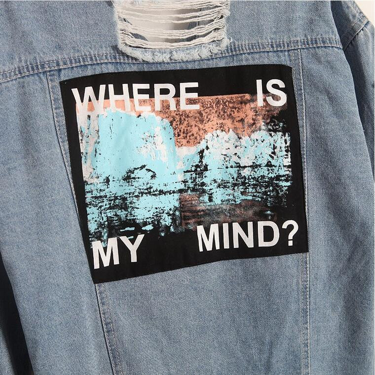 Where is my mind? Denim Jacket