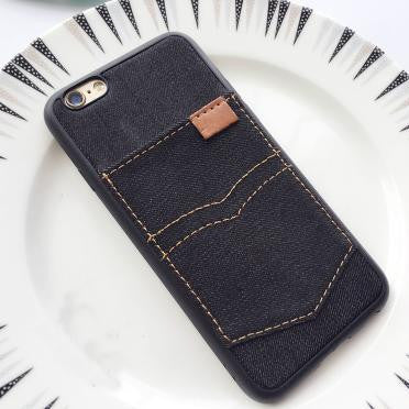 Jeans Pockets Phone Case - infinity owl
