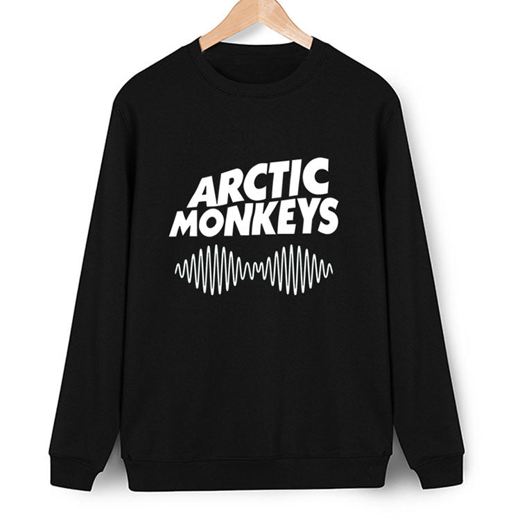 Arctic Monkeys Black Sweatshirt - infinity owl