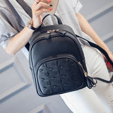 Liliana PU Leather Backpack