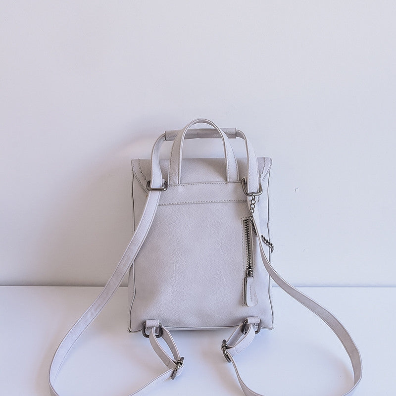 Reagan Leather Backpack