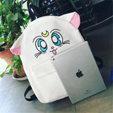 White Luna Backpack