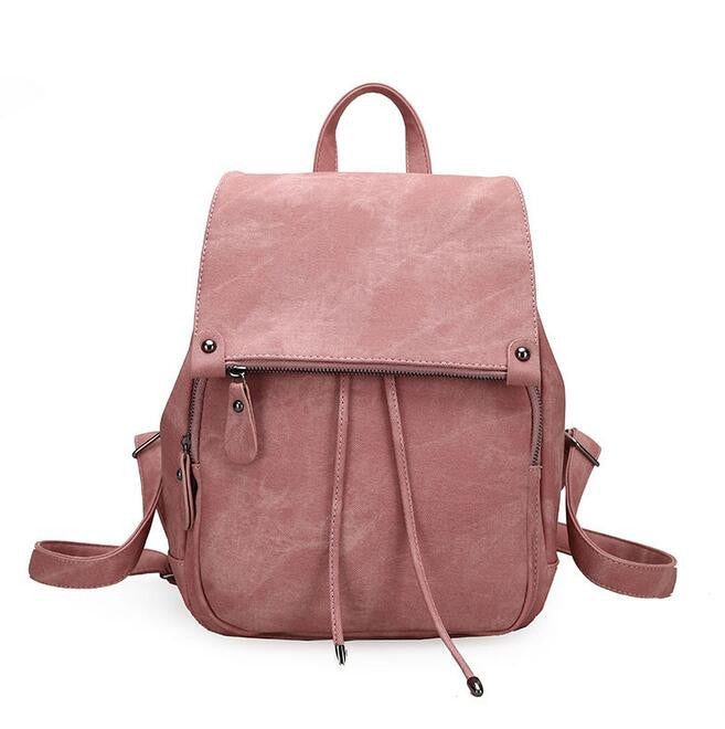 Cali Sueded Double Layers Backpack