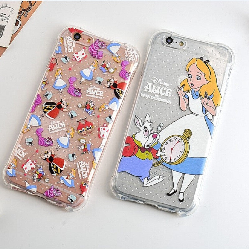 Alice SOFT TPU Phone Cases - infinity owl
