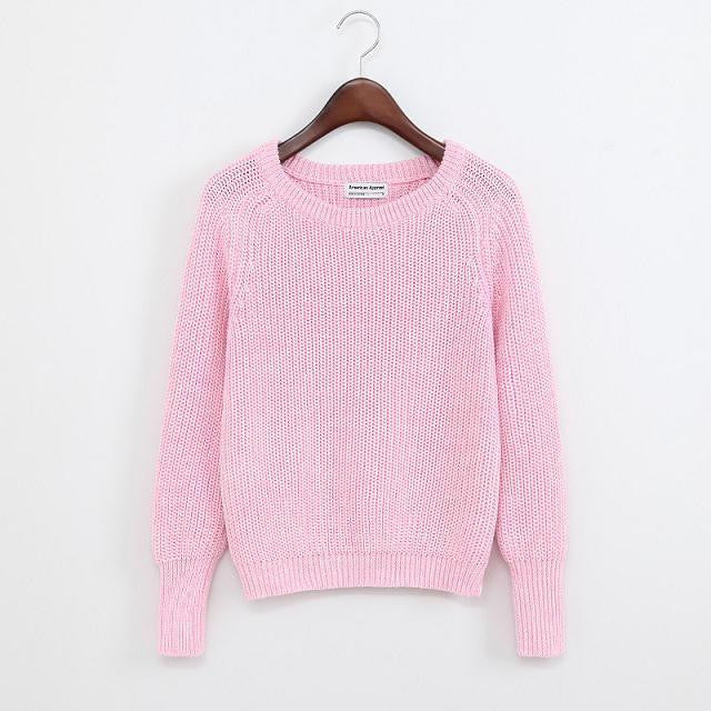 Anne Casual Sweater - infinity owl