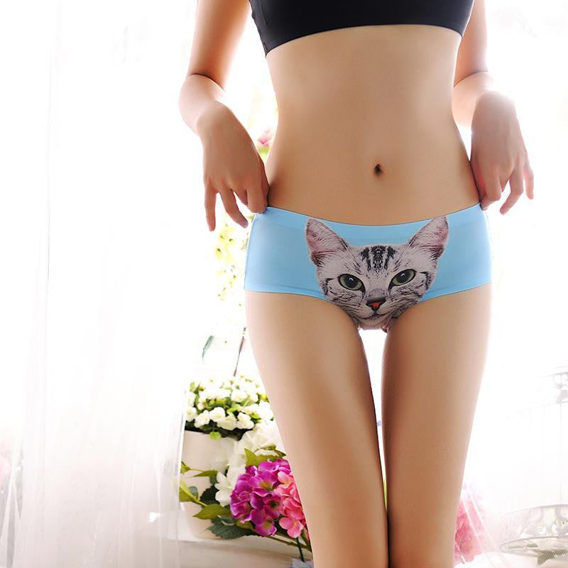 Cat Faces Panties