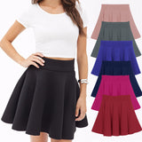 Alice Skater Skirts - 9 Colors Available - infinity owl