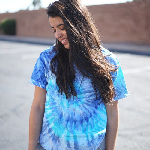 Ocean Waves Tie Dye T-Shirt