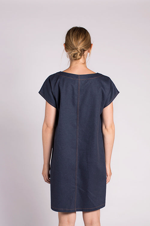Nari Denim Dress - Indigo