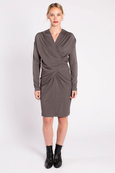 Jacqueline Dress in Smoke