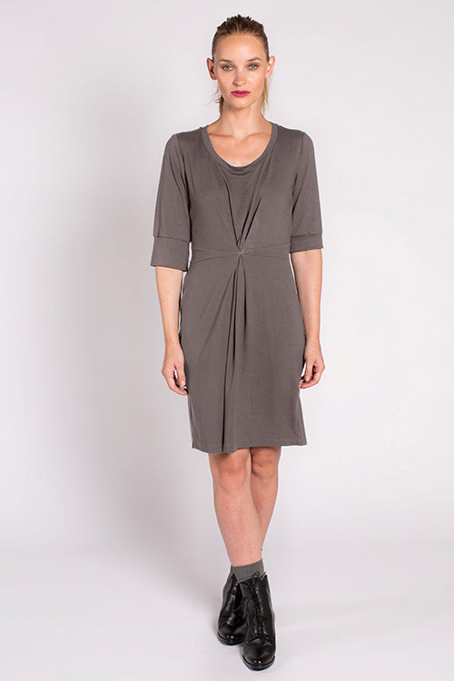 Devane Dress in Smoke