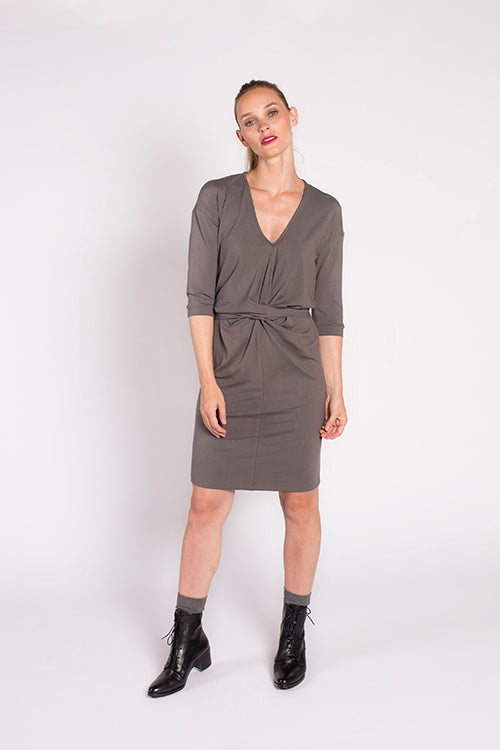 Goldin Dress in Smoke