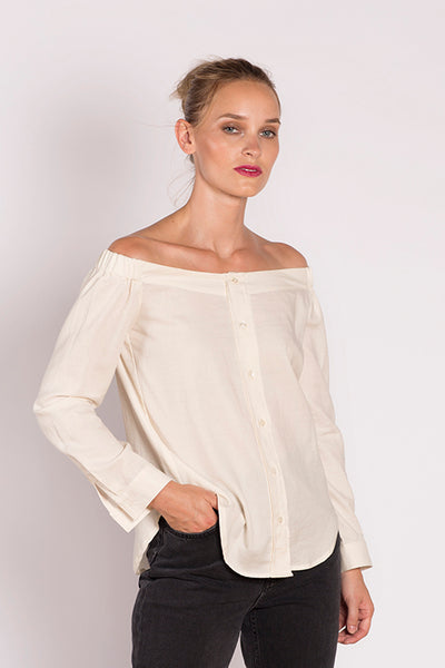 Julisa Shirt in Ivory