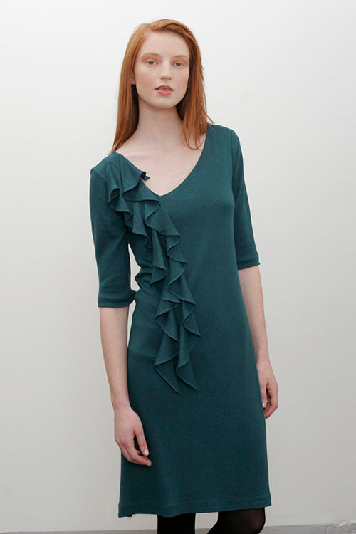 Miranda Dress in Dark Pacific