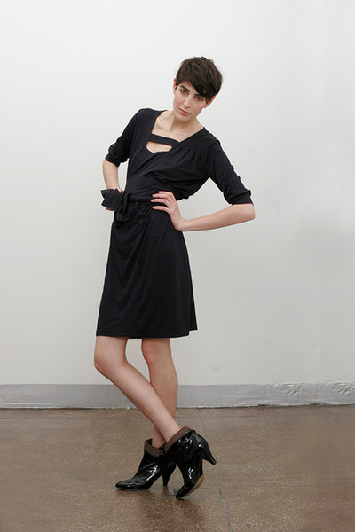 Yasmin Dress in Black